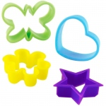 Birthday Express Assorted Cookie Cutters Various - color may vary
