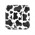 Cow Print Dessert Plates (8): Birthday