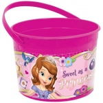 Disney Sofia the First Favor Bucket - Multi-colored
