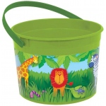 Jungle Animals Favor Bucket - Multi-colored