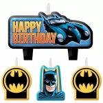 Amscan Batman Birthday Candle Set