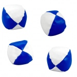 Rhode Island Novelty Blue and White Kick Balls White/Blue