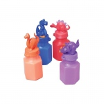 US Toy Dino Head Bubbles Various - color may vary