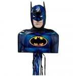 Batman 3D Pull-String Pinata: Multi-colored, Birthday