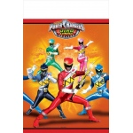 Power Rangers Dino Charge Plastic Tablecover: Multi-colored, Birthday