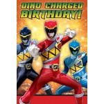 Amscan Power Rangers Dino Charge Invitations (8)