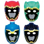 Amscan Power Rangers Dino Charge Paper Masks (8)