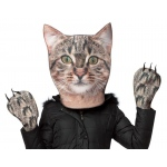 Cat Head & Paws Adult Costume One-Size: One-Size, Everyday, Unisex, Adult
