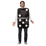 Build your Own Domino Adult Costume One-Size: Black/White, One-Size, Everyday, Unisex, Adult