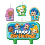 Amscan Bubble Guppies Birthday Candle Set