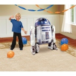 Star Wars R2D2 AirWalker Foil Balloon: Multi-colored, Birthday