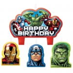 Amscan Avengers Assemble Birthday Candle Set