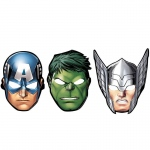 Amscan Avengers Assemble Paper Mask Assortment (8)