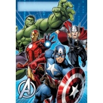 Avengers Assemble Plastic Treat Bags (8): Multi-colored, Birthday