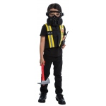 BuySeasons Fireman Dress Up Accessory Kit Small (4-6)