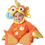 In Character Costumes Giggly Goldfish Infant Costume 6-12 Months