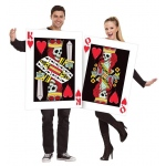 Fun World King and Queen of Hearts Adult Costume One-Size