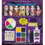 Family Value Makeup Kit: Multi-colored, Everyday, Unisex
