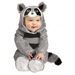 Baby Raccoon Toddler Costume: Gray, 12-24 Months, Everyday, Unisex, Toddler