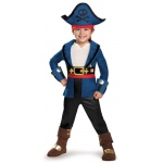Captain Jake and the Neverland Pirates: Captain Jake Deluxe Toddler Costume - M (3T-4T)