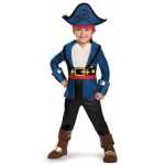 Disguise Captain Jake and the Neverland Pirates: Captain Jake Deluxe Child Costume S (4-6)