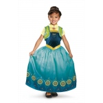 Anna Frozen Fever Deluxe Child Costume: Green, Small, Everyday, Female, Child