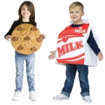 Fun World Cookies and Milk Toddler Costume 3T-4T