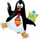 Penguin Birthday Jumbo Foil Balloon: Birthday