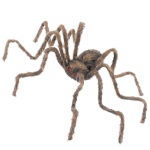 "50"" Brown Spider: Brown, Halloween, Unisex, Adult"
