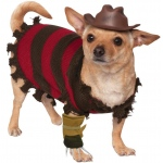 Freddy Kreuger Pet Costume - Small