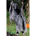 """60"""" Reaper on Swing"": Gray, Everyday, Unisex"