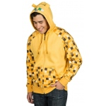 Minecraft Ocelot Premium Zip-up Adult Hoodie - Medium