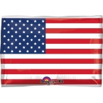 Mayflower Distributing American Flag Foil Balloon