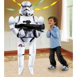 Star Wars Stormtrooper Airwalker Foil Balloon: White, Birthday
