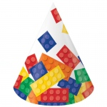 Creative Converting Building Block Party Cone Hats