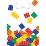Creative Converting Building Block Party Treat Bags