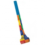 Building Block Party Blowouts - Multi-colored