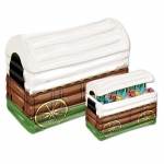 Inflatable Chuck Wagon Cooler: Multi-colored, Birthday