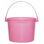Amscan Bright Pink Favor Bucket Pink