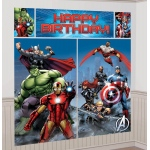 Amscan Avengers Assemble Wall Decorating Kit