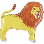 Lion Jumbo Foil Balloon: Birthday