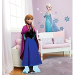 Disney Frozen Wall Decals and Standup Kit: Multi-colored, Birthday