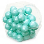 Sweetworks Shimmer Turquoise Gumballs Turquoise