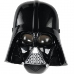 Star Wars: Darth Vader Mask (8): Black, Birthday