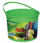 Amscan Teenage Mutant Ninja Turtles Plastic Bucket