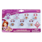 HER Accessories Disney Junior Sofia the First - 7 Day Ring and Earring Set