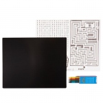 Birthday Express Black Activity Placemat Kit for 4