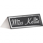 Creative Converting Chalkboard Placecards (12)