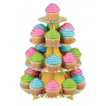 WILTON Colorful Cupcake Stand