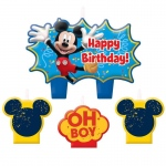 Amscan Disney Mickey Fun & Friends Birthday Candle Set